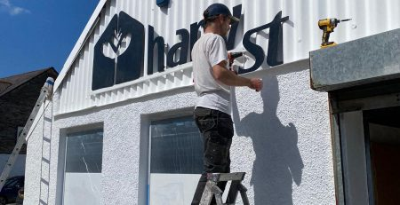 The Big Move and a new lick of paint