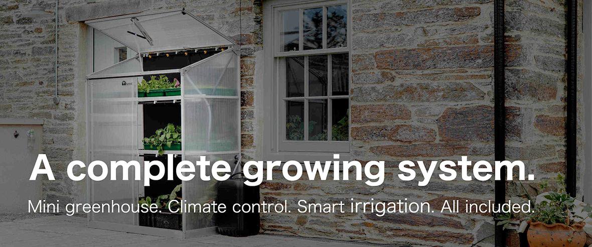 smart mini greenhouses